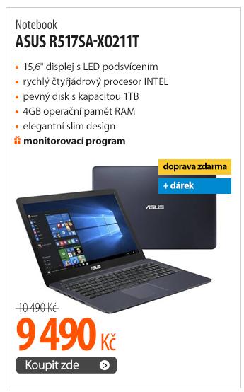 Notebook Asus R517SA-XO211T