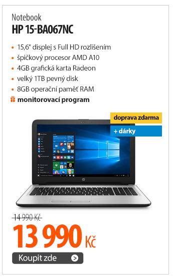 Notebook HP 15-ba067nc