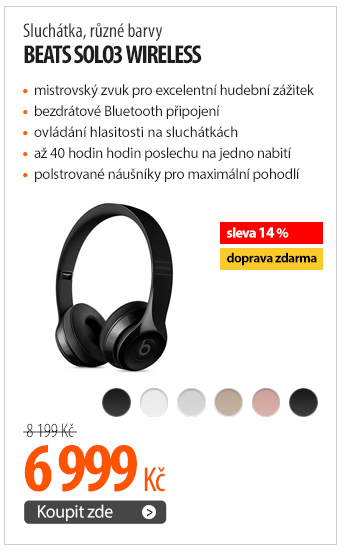 Sluchátka Beats Solo3 Wireless