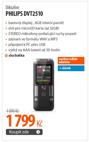 Diktafon Philips DVT2510