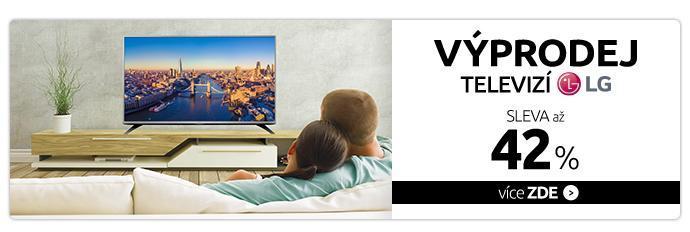 Výprodej televizí LG