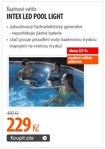 Bazénové světlo Intex LED pool light