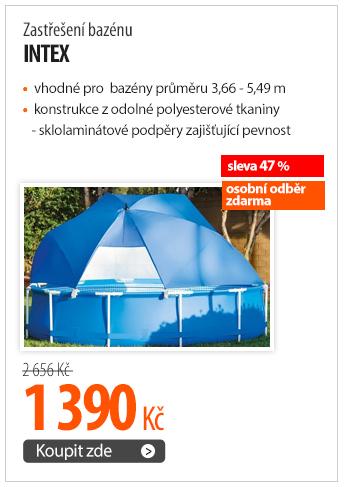 Zastřešení bazénu Intex