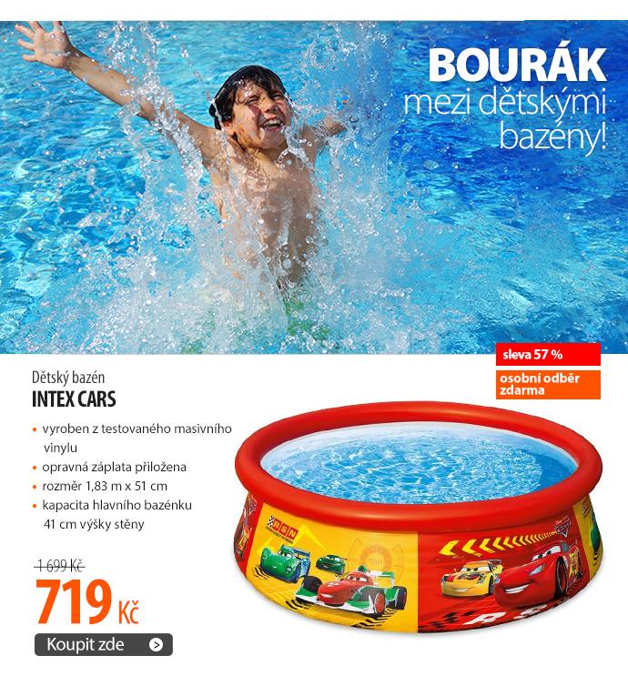 Dětský bazén Intex Cars