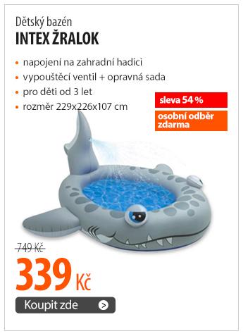 Dětský bazén Intex Žralok