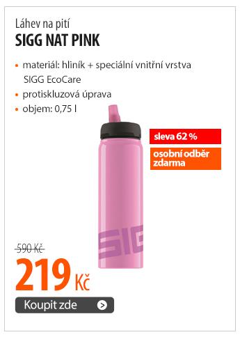 Láhev na pití Sigg Nat Pink