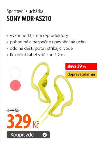 Sportovní sluchátka Sony MDR-AS210