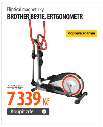 Eliptical magnetický Brother BE91E, ergonometr