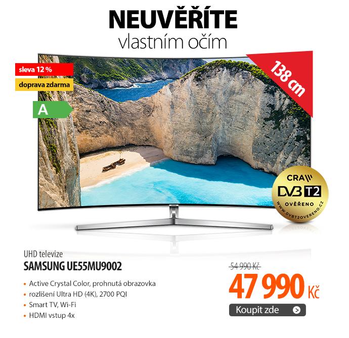 UHD televize Samsung UE55MU9002