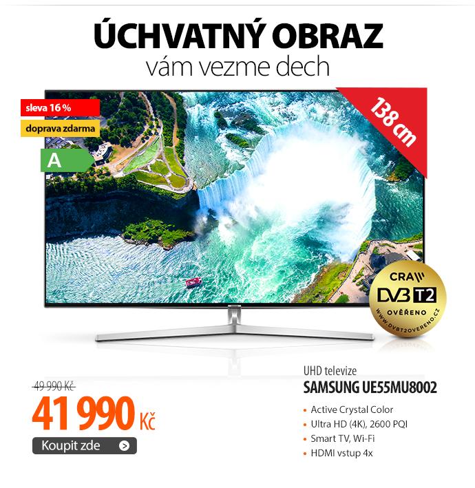 UHD televize Samsung UE55MU8002