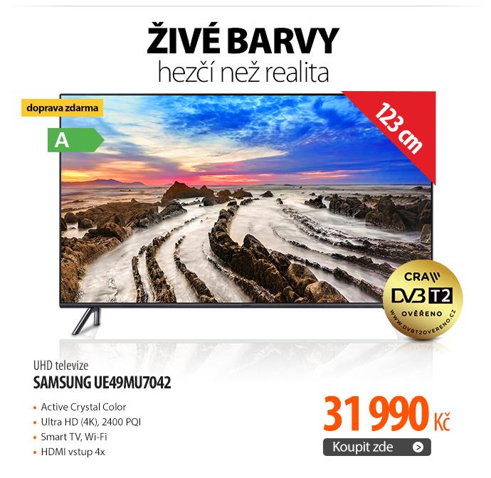 UHD televize Samsung UE49MU7042