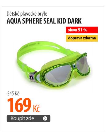 Dětské plavecké brýle Aqua Sphere Seal Kid dark