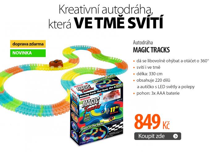 Magic Tracks svítící autodráha