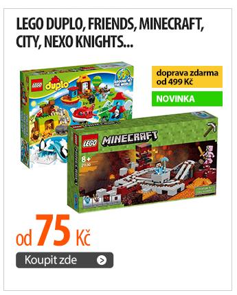 Lego Duplo, Friends, Minecraft, City, Nexo Knights...