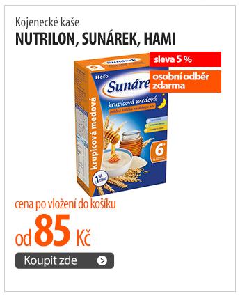 Kojenecké kaše Nutrilon, Sunárek, Hami
