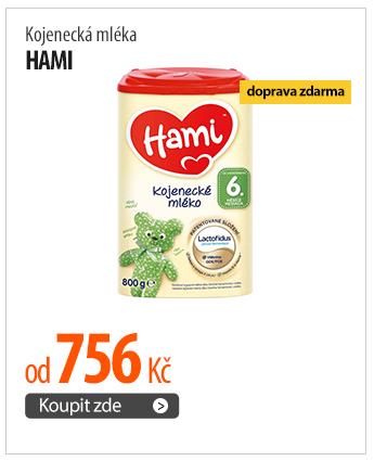 Kojenecká mléka Hami od 756 Kč