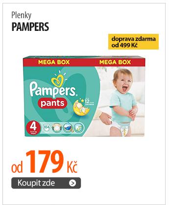 Plenky Pampers od 179 Kč