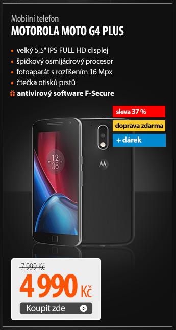Mobilní telefon Motorola Moto G4 Plus