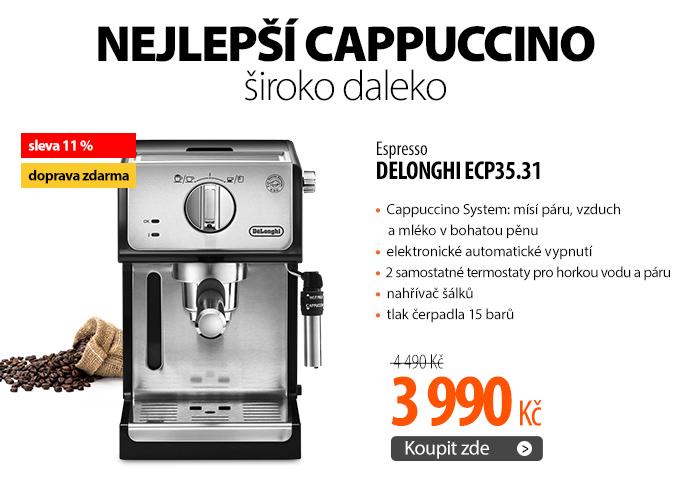 Espresso DeLonghi ECP35.31
