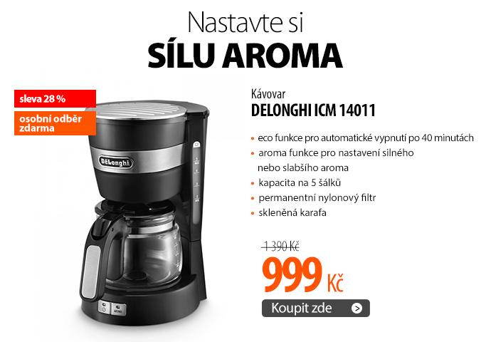 Kávovar DeLonghi ICM 14011