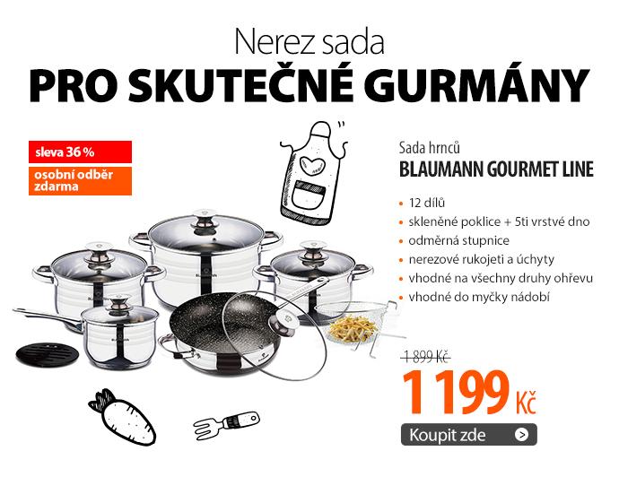 Sada hrnců Blaumann Gourmet line, 12 dílů