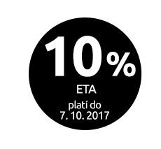 Sleva 10 % na značku ETA