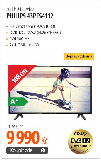 Full HD televize Philips 43PFS4112