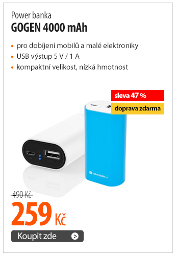 Power Bank GoGEN 4000mAh