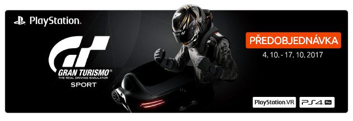 PlayStation Gran Turismo Sport hra předobjednávky