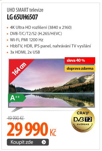 UHD SMART televize LG 65UH6507