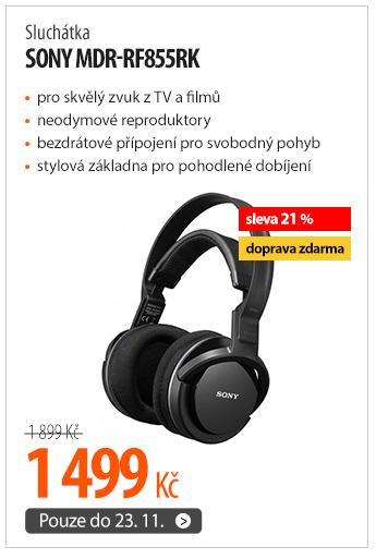 Sluchátka Sony MDR-RF855RK