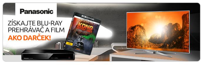 Blu-ray přehrávač jako dárek k LED TV Panasonic