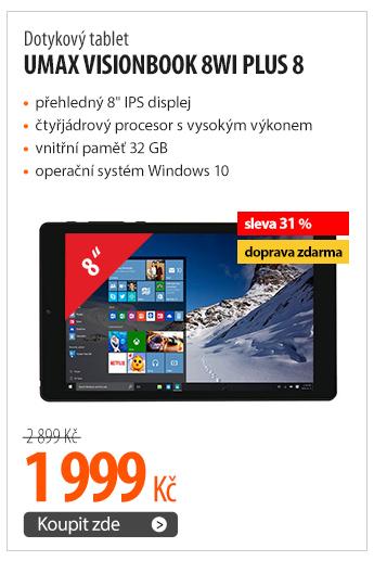 Dotykový tablet Umax VisionBook 8Wi Plus 8