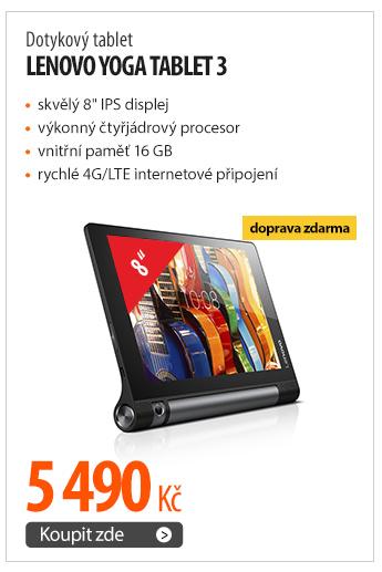 Dotykový tablet Lenovo Yoga Tablet 3