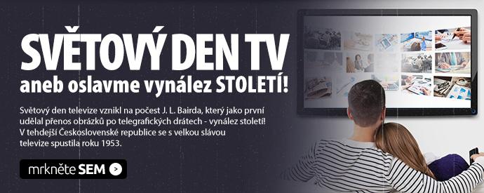 SVĚTOVÝ DEN TV aneb oslavme vynález STOLETÍ!