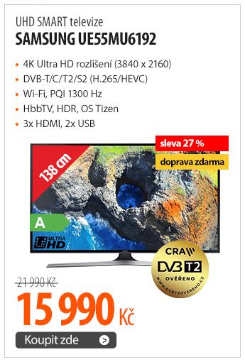 UHD SMART televize Samsung UE55MU6192