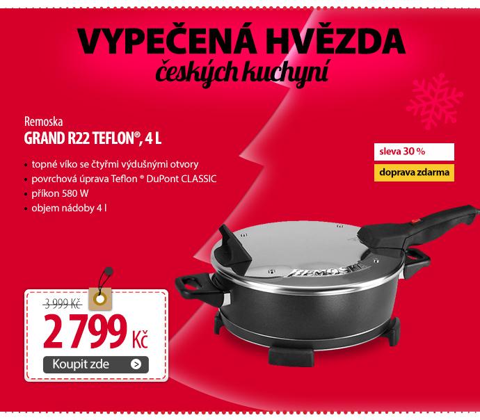 Remoska Grand R22 Teflon®, 4 l