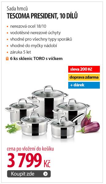 Sada hrnců Tescoma President, 10 dílů