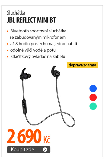 Sluchátka JBL Reflect Mini BT
