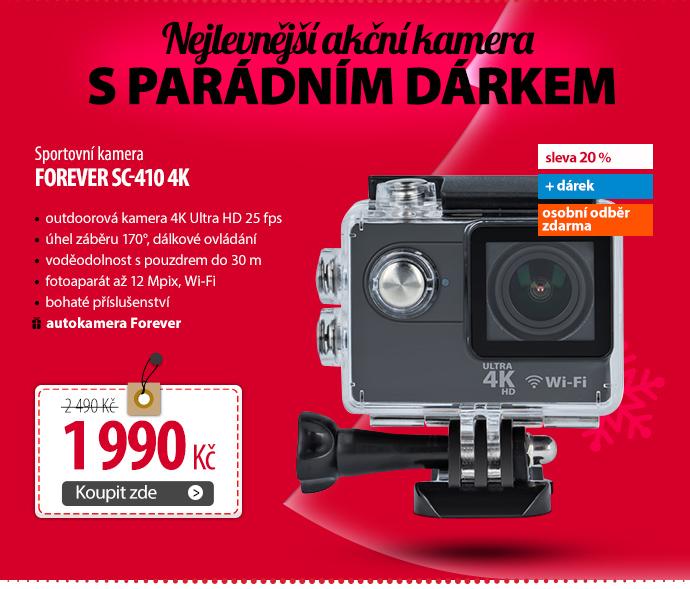 Sportovní kamera Forever SC-410 4K