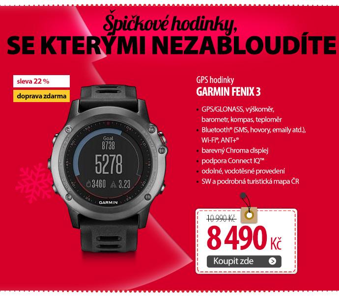GPS hodinky Garmin Fenix 3