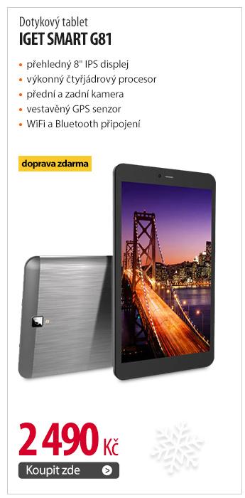 Dotykový tablet iGET SMART G81