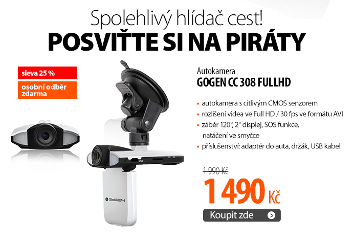 Autokamera GoGEN CC 308 FULLHD