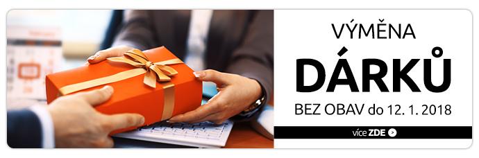 Výměna dárků bez obav do 12.1.2018