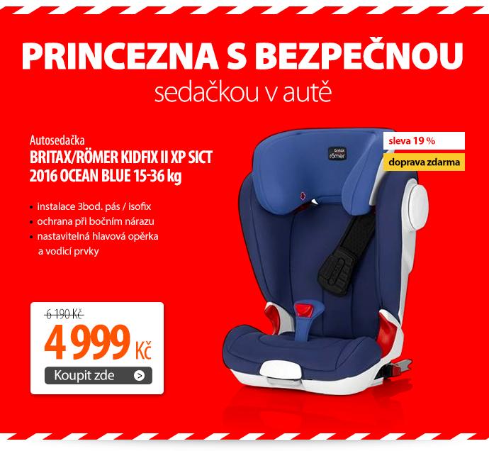 Autosedačka Britax/Römer KIDFIX II XP SICT 2016 Ocean Blue 15-36 kg