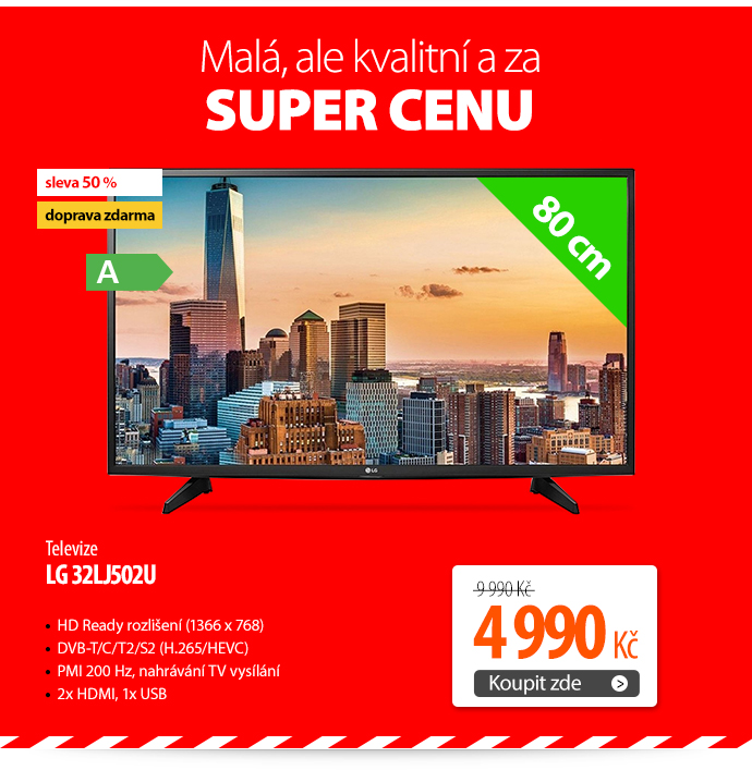 Televize LG 32LJ502U