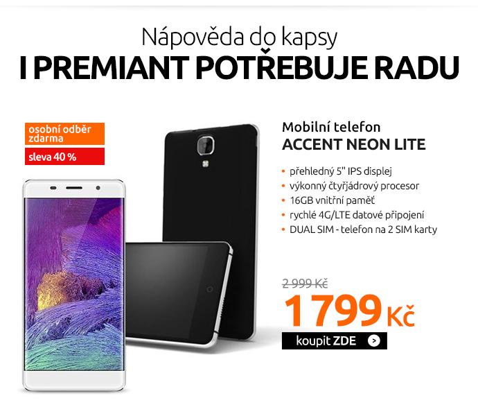 Mobilní telefon Accent NEON LITE