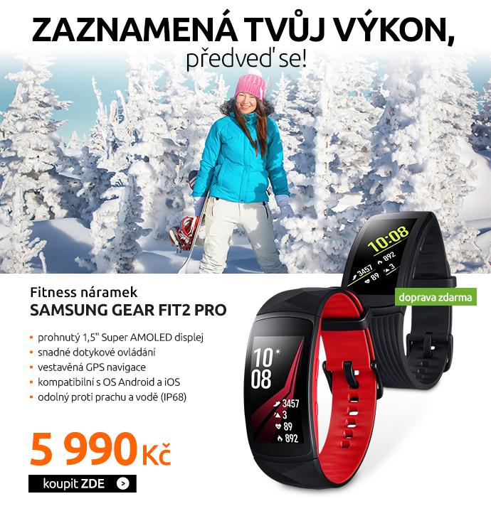 Fitness náramek Samsung Gear Fit2 Pro