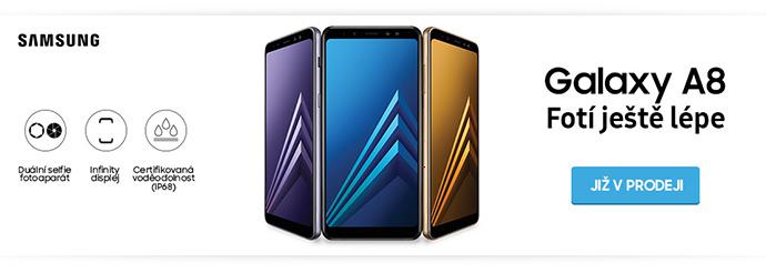 Nový Samsung Galaxy A8! Odolný elegán bez rámečků