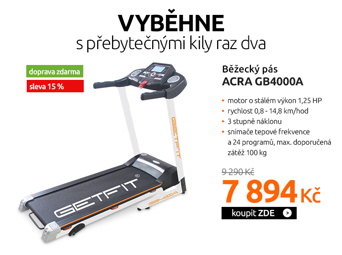 Běžecký pás Acra GB4000A